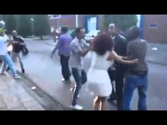 Ethiopian fight in Amsterdam after Concert 8 June 2014