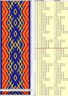36 tarjetas, 4 colores, repite cada 32 movimientos // sed_566 diseñado en GTT༺❁