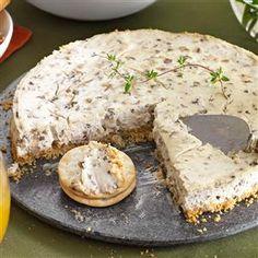 Mushroom, Walnut & Thyme Cheesecake Recipe