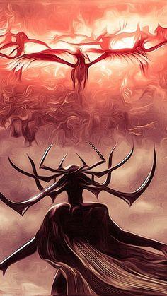 Hela vs the Valkyries - Hela vs the Valkyries - Marvel Hela, Hela Thor, Marvel Comics, Marvel Memes, Marvel Avengers, Loki Thor, Loki Laufeyson, Thor Ragnarok Movie, Marvel Heroes