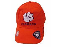 Clemson Tigers Men's Classic Logo Baseball Cap One Size (Adjustable) Orange…
