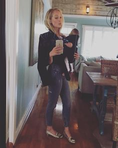"Candice King on Instagram: ""It's all about that @babybjorn and my new signature scent Eau De Spit Up #prewhitchinghour #momlife #shamelessmomselfie"""