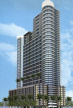 Infinity on Brickell  Infinity at Brickell is a 56-story condominium with 459 total units located in Brickell, Miami, FL.  Infinity is the 7th tallest building in Miami, & in Florida.
