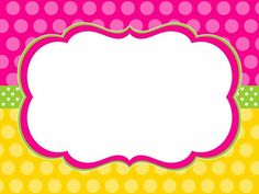 good for candy buffet labels School Border, Boarders And Frames, Boarder Designs, School Labels, Borders For Paper, Binder Covers, Party Signs, Note Paper, Classroom Decor