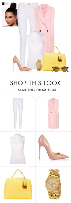 2017/222 by dimceandovski on Polyvore featuring Maison Margiela, Marni, M.i.h Jeans, Christian Louboutin, Orciani and Ray-Ban