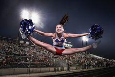 Tobin Rogers Photography - Nampa High School varsity cheerleader creative portraiture shoot.