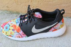 056484d6c6b0 Custom Nike Roshe Run Donut Hot Coffee Bling by LeedasWorld