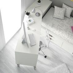 camas #compactas y #escritorios que se amoldan a tu #estudio o incluso a tu cena