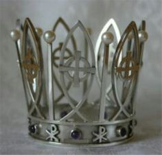 Elleholm Church crown. 1977. Bridal Crown, Tiaras And Crowns, Old Things, Brass, Type, My Style, Metal, Clothing, Silver