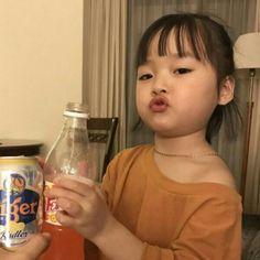 Cute Asian Babies, Korean Babies, Asian Kids, Cute Babies, Cute Little Baby, Cute Baby Girl, Cute Baby Meme, Kids Girls, Baby Kids