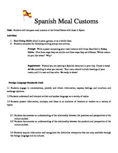 spanish food vocabulary menu and restaurant skit project espa ol 1 pinterest food vocabulary. Black Bedroom Furniture Sets. Home Design Ideas