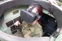 Driving a tank in Norwegian Army using Oculus Rift has become a real thing.