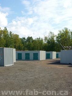 Personal storage made easy!  Want your new custom container? Call us today! Fabricated Container Systems  Office. 289.270.2952  Fax. 905.364.5329  E-mail: Sales@fab-con.ca