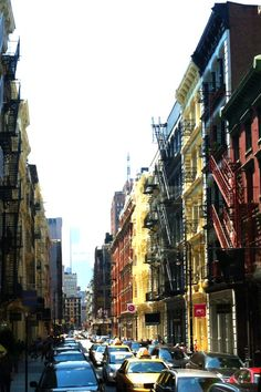 New York City Street in Soho