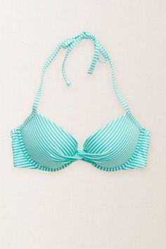 Aerie Women's Brooke Twist-front Bikini Top (Sugar Palm)