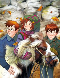 """The Children of Fairy Oak.  Together, they are stronger and more efficient than the adults  and it's fantastic to """"see"""" themacting in unison to solve a member's problems."""