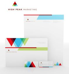 Huisstijl High Peak Marketing