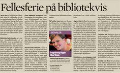 Hvordan fungerer biblioteket om sommeren og i ferietid? Les NBF-leder Ingeborg Rygh Hjorthens beskrivelse av bibliotekets viktige betydning nettopp i fellesferien.