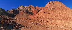 Mount Sinai on the Sinai Peninsula in Egypt