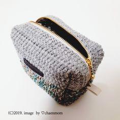 [공유] 코바늘 뜨기로 통통한 사각 파우치 만들기 : 네이버 블로그 Crochet Pouch, Knit Crochet, Knitted Bags, Crochet Projects, Purses And Bags, Diy And Crafts, Coin Purse, Crochet Patterns, Wallet
