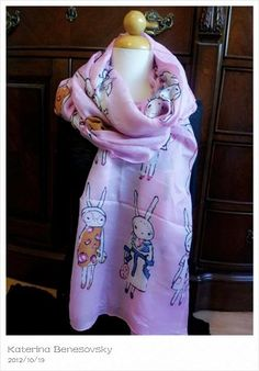 My favorite item for Fall Collection!!!!       Bunny scarf -Japanese pring style  ........ comes in 3 colors -pink-light grey-dark grey  ...... $25.....   Free shipping if you call me .........  Katerina 818-634 7674 visa/master card/personal checks