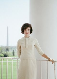 Jackie Kennedy at the White House by Mark Shaw, 1961.