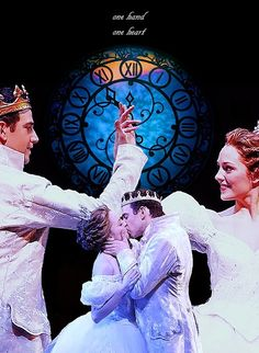 Laura Osnes as Cinderella and Santino Fontana as Prince Topher in Rodgers and Hammerstein's Cinderella on Broadway Rodgers And Hammerstein's Cinderella, Cinderella Broadway, Musical Theatre Broadway, Broadway Shows, Laura Osnes, Billy Elliot, Theatre Nerds, Theatre Costumes, Drama Queens