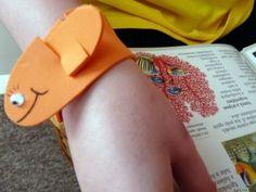 Craft Ideas for Children: Bookmark bracelet Bookmarks, Children, Crafts, Albums, Craft Ideas, Bracelet, Picasa, Loom Bands, So Done