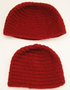 How to make a floral beanie. Double Crochet Beanie Tutorial For Beginners - Step 21