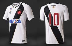 Camisas do Vasco da Gama 2016-2017 Umbro Branca Vasco Da Gama Futebol f11d1728f924b