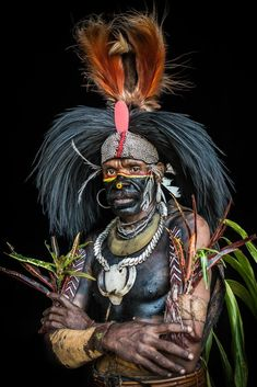 Papua new guinea foi tribe from lake kutubu anywayinaway photographic print coastal tribe natives oro papua new guinea by michele westmorland We Are The World, People Around The World, Indigenous Tribes, Tribal People, Body Adornment, African Culture, Papua New Guinea, World Cultures, Belle Photo