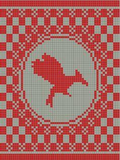 Catching Fire crochet pattern