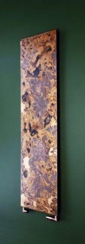 Bisque Radiators, Arteplano Radiator range.  Individually etched brass or copper finish.