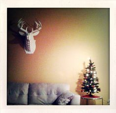 We put up our tree. :) by jennyndesign, via Flickr via 83521