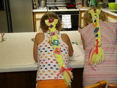Go Ahead & Craft: Rapunzel Birthday Party