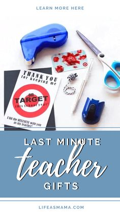 Teachers are a treasure, and don't get all the appreciation they deserve. Still, life happens and sometimes special events sneak up on you. Life as Mama has 10 last minute teacher gift ideas. Tap the photo again for when you are scrambling for a gift! #lifeasmama #teachergift #giftideas #teacherappreciation #teachers Sneaks Up, Life Happens, Lifestyle Group, Mom Hacks, Fun Crafts For Kids, Last Minute, Teacher Appreciation, Learning Activities, Kids And Parenting