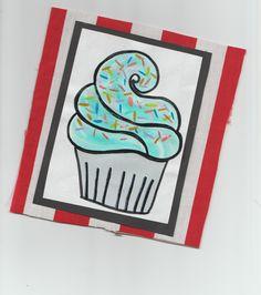 Cupcake Painting #painting #cupcake