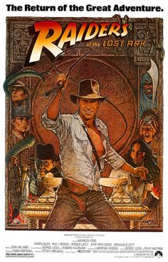Indiana Jones Raiders of the Lost Ark Movie Poster 11x17
