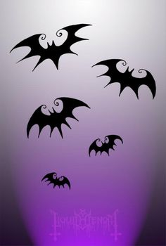 Nightmare Before Christmas Bats <3