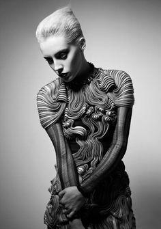 Strangely compelling, Model- Chloe Norgaard Stylist- Shohei Fashion-...