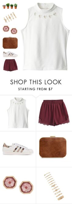 """""""here - 2:00 a.m. version"""" by ouchm4rvel ❤ liked on Polyvore featuring adidas Originals, Vince Camuto and Forever 21"""