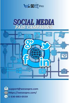 We are a Chicago based digital marketing agency providing paid social media campaign services in the most proficient manner and at reasonable prices. We are making it a lot easier and faster for you to enhance your marketing by reaching out to bigger and target audience. This will raise your number of followers and sales as well.