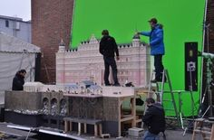 Epic Movie Sets That Were Actually Miniature Models - Neatorama