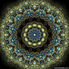 Oro y azul de Marcelo Dalla