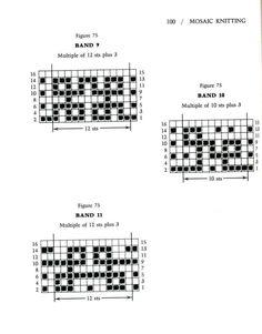 Mosaic Knitting Barbara G. Walker (Lenivii gakkard) Mosaic Knitting Barbara G. Walker (Lenivii gakkard) #105