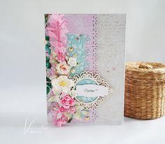Odskocznia vairatki: Ślubne podziękowania Shabby, Scrapbooking, Cards, Beautiful, Maps, Scrapbooks, Playing Cards, Memory Books, Scrapbook