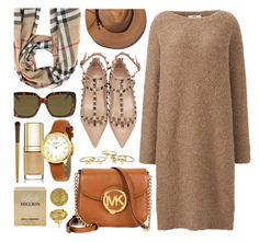 """""""Perfect Fall"""" by jomashop ❤ liked on Polyvore featuring Burberry, Michael Kors, Dolce&Gabbana, Uniqlo, Kate Spade, Valentino, Gucci, Paco Rabanne, Eugenia Kim and Fall"""
