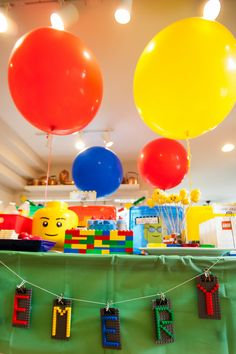 Over the decades there has been only a handful of toys that have withstood the test of time… the yo-yo, Barbie, and of course Legos. So, naturally a Lego birthday is the stuff that childhood dreams are made of! With a wildly creative party planning mom, little Emery's 7th birthday bonanza was sure to be …