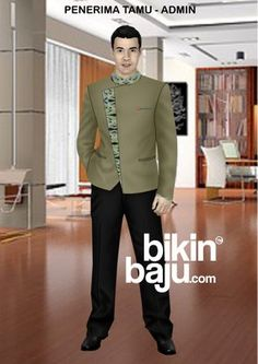 Jas Batik Pria Modern Adalah Produk Baju Blazer Pria Premium Terbaru