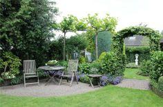 Mooie combi van zitten en groene planten